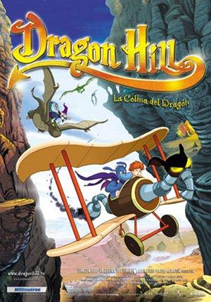 Kevins pūķu zemē / Dragon Hill. La colina del dragón