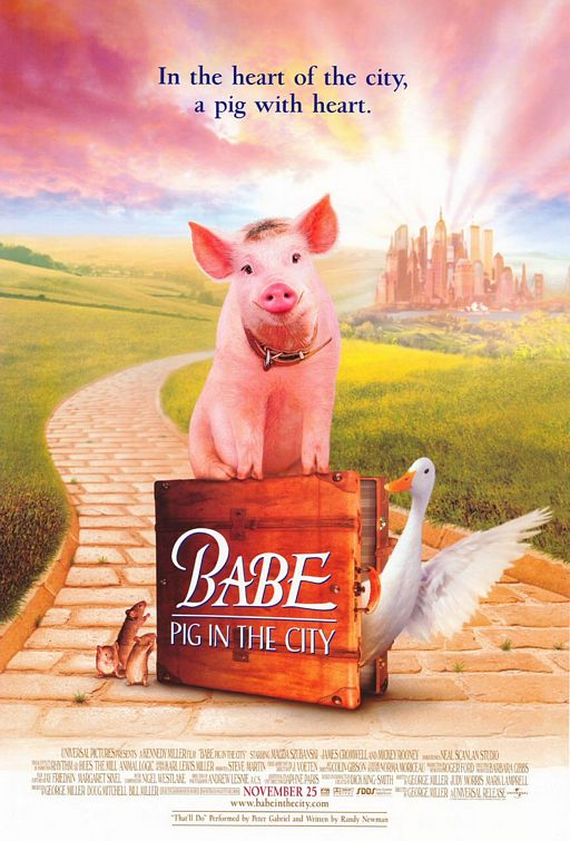 Mazulis pilsētā / Babe: Pig in the City