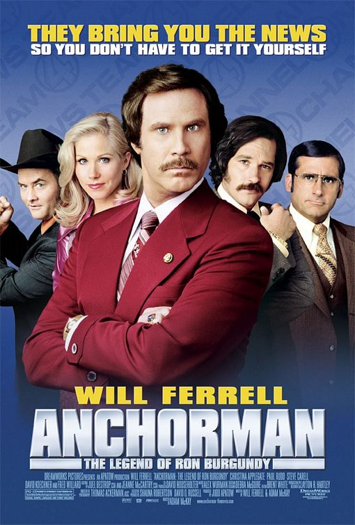 Televīzijas dvēsele / Anchorman: The Legend of Ron Burgundy