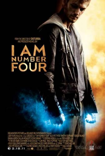 Es esmu Ceturtais / I Am Number Four