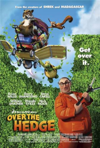 Otrpus žogam / Over The Hedge