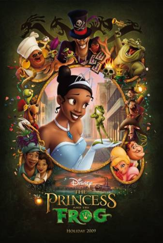 Princese un varde / Princess and the Frog
