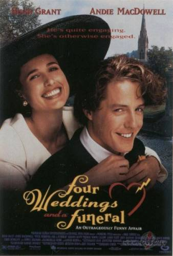 Četras kāzas un vienas bēres / Four Weddings and a Funeral