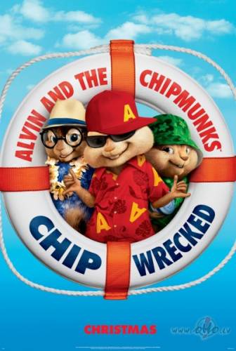 Alvins un burunduki 3 : Aizburājuši / Alvin and the Chipmunks: Chipwrecked