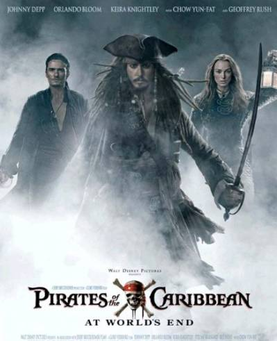 Karību jūras pirāti: Pasaules malā / Pirates of the Caribbean: At World's End
