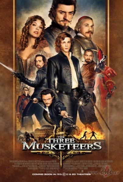 Trīs musketieri 3D / The Three Musketeers