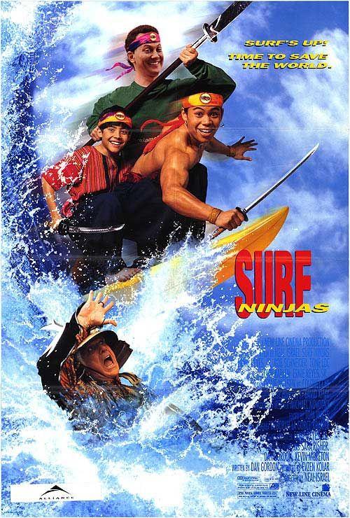 Nindzjas sērfotāji / Surf Ninjas