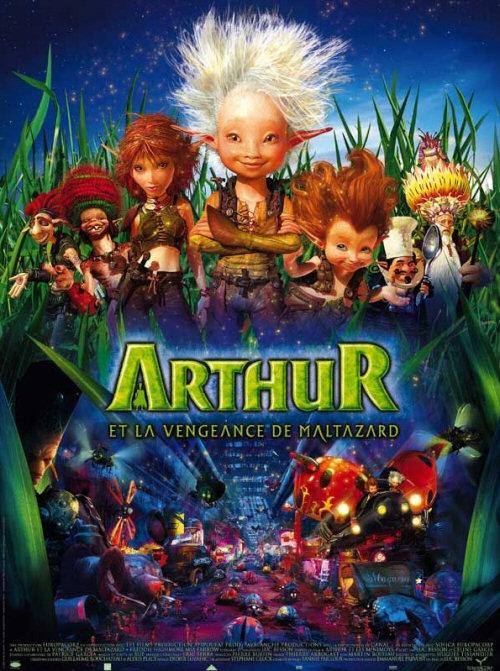 Artūrs un Maltazara atriebība / Arthur et la vengeance de Maltazard