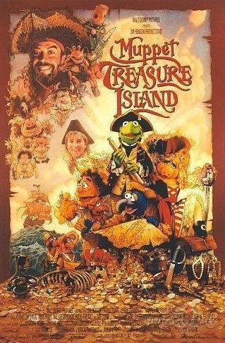 Leļļu šovs bagātību salā / Muppet Treasure Island