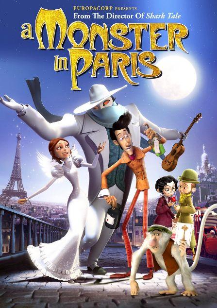 Briesmonis Parīzē / A Monster in Paris