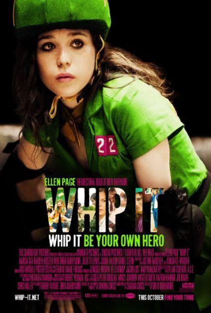 Meitene uz skrituļslidām / Whip It